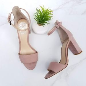 Vince Camuto Corlina Ankle Strap Sandals Nude Pink